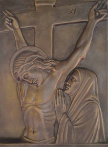The twelfth Station Jesus dies on the cross Jesus gave a loud cry and breathed his last. Mark 15:37